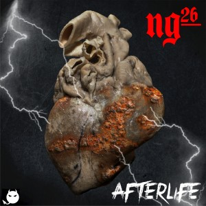 Single release cover art for Afterlife by NG26