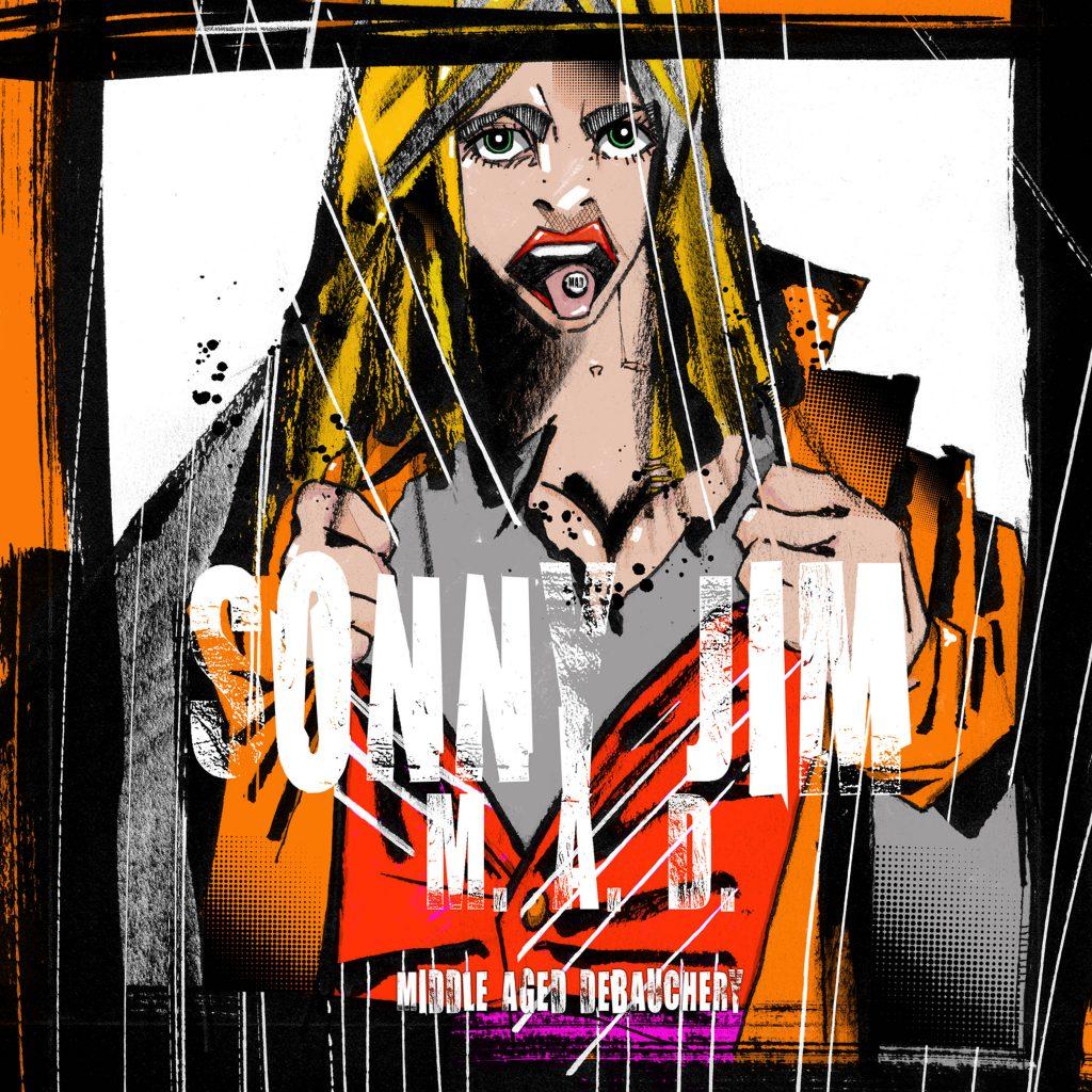 Sonny Jim album release M.A.D (Middle-Aged Debauchery)