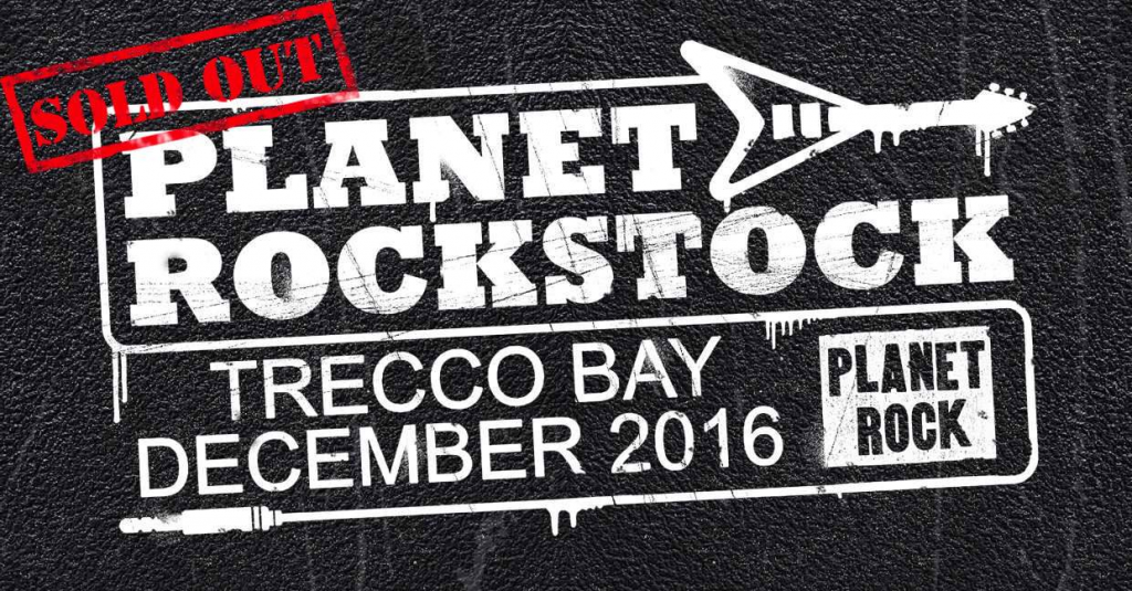 The Dust Coda live at Planet Rockstock 2016