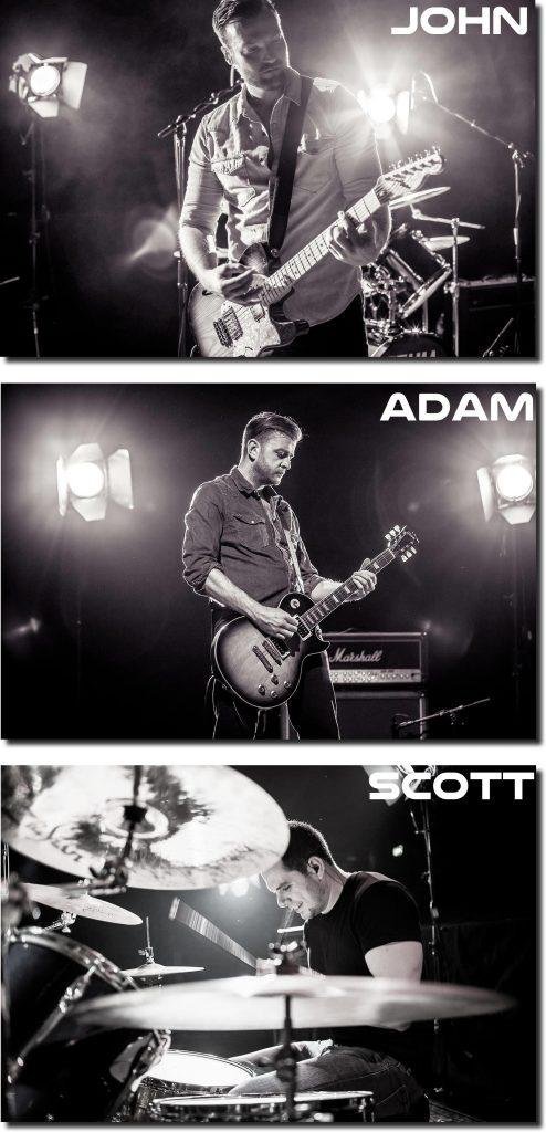 Rock band The Dust Coda John Adam and Scott Holier Than Thou Records