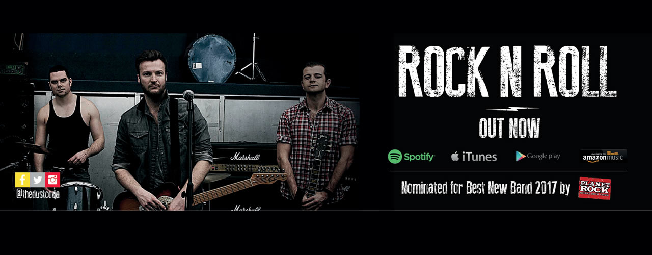 The Dust Coda nominated for Best New Band at Planet Rock Radios' The Rocks Awards 2017