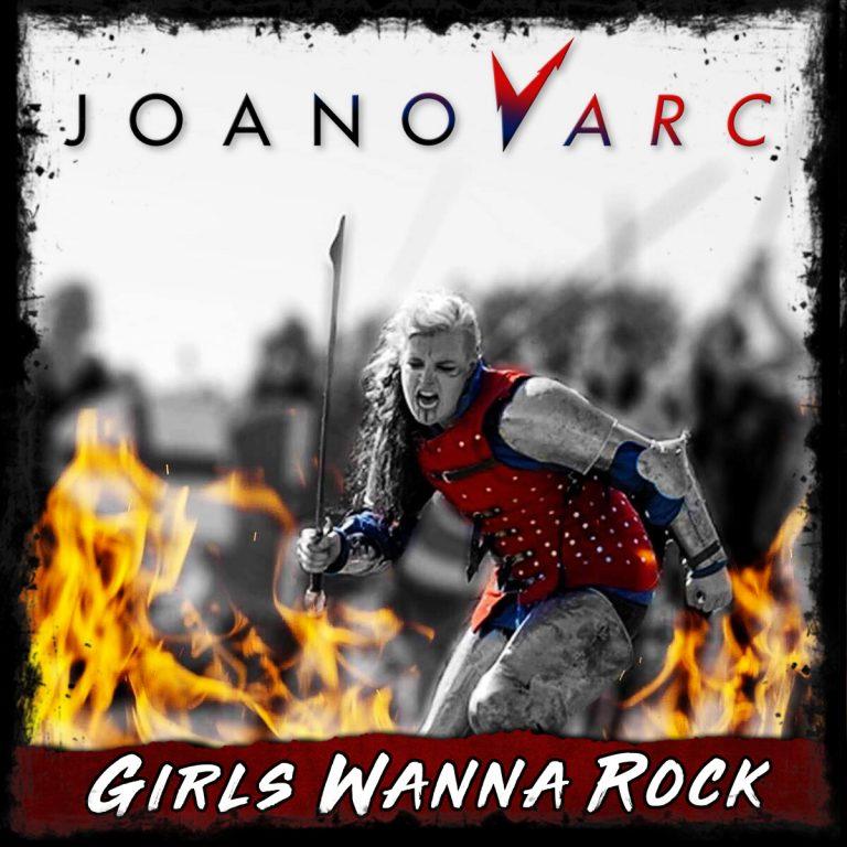 New single by JOANovARC 'Girls Wanna Rock' on release 19/10/2018